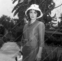 8x8 pic candid Gina Lollobrigida at home maybe dp-16943 | eBay