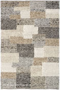 Patchwork Rugs, Patchwork Patterns, Wool Area Rugs, Wool Rug, Neutral Colors, Colours, Rug Inspiration, Shades Of Beige, Morocco