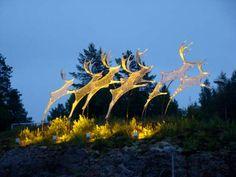 Rovaniemi é uma cidade ao norte da Finlândia, eleita a capital da Lapônia após uma votação feita ent... - David Kim/ Divulgação
