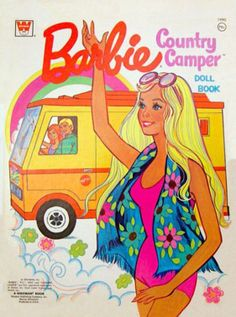 Barbie Country Camper Doll Book