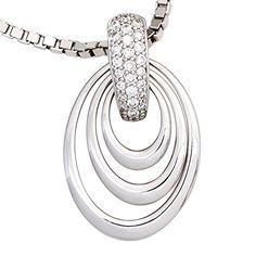 Damen-Anhänger 26 Diamant-Brillanten 14 Karat (585) Weißgold 0.20 ct. Dreambase http://www.amazon.de/dp/B00N5C6HP2/ref=cm_sw_r_pi_dp_u3GVvb1359PK6