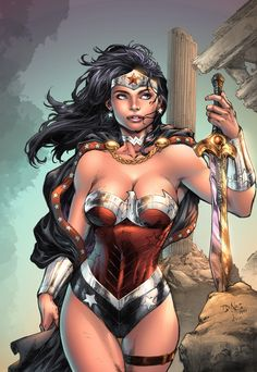 wonderful art of Ed Benes and my colors to compose by dinei.deviantart.com on @deviantART