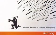 We support the concept of Freedom of Thought & Expression #CharlieHebdo . Killing in the name of religion is a #Sin.