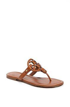 orrrr this color.. hmm... Tory Burch 'Miller' Thong Sandal | Nordstrom