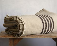 Wool camp blanket