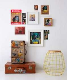 Hang a collection of Tretchikoff prints against a white wall for maximum impact.