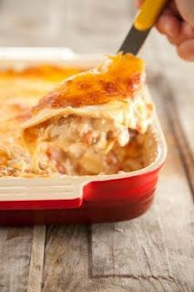 Paula Deen's Mexican Chicken Casserole. I think i would add corn and beans so it's not so many liquids only.