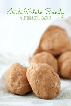 Irish Potato Candy ~ nope, no potatoes involved, these treats only LOOK like spuds! Flavors are actually coconut, cream cheese, sugar, and cinnamon. | recipe via Living Better Together