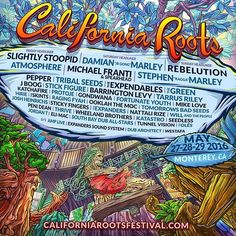 California Roots Music & Arts Festival 2016, Monterey County Fairgrounds