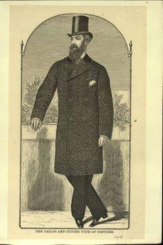 Dashing Victorian Man