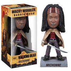 Walking Dead Series 1, Walking Dead Toys, Michonne Walking Dead, Toy Art, The Walking Dead Merchandise, Zombie Gifts, Wacky Wobbler, Sport, Bobble Head