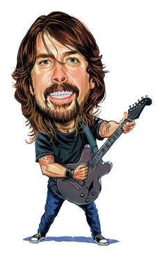 Dave Grohl by Art.