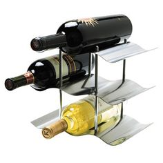 Wine Bottle Rack now featured on Fab. Get socially savvy with this line of barware and dining accessories from OGGI. With an emphasis on sleek stainless steel design and clever solutions, any piece from this collection will catapult you into a whole new league of entertaining expertise.