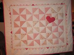 The quilt I made for Katie Rose.