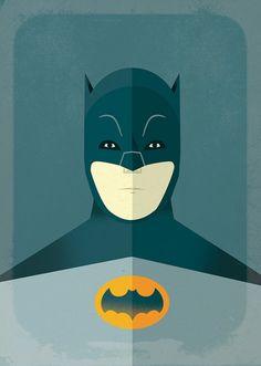 Poster Batman Retrô
