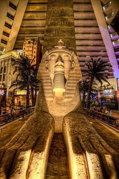 The Great Sphinx | Luxor Resort | Las Vegas
