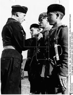 TRAITORS OF THE RUSSIAN LAND. Russian Cossacks crossed in the service of Nazi Germany. Cossacks in the German Wehrmacht