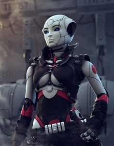 Major_RoboTotaRTs12 Picture (3d, sci-fi, robot, military, major, android)