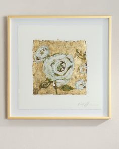 RFA Fine Art Metallic-Accent Floral Giclees