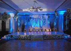 Seating arrangement of Bride and Groom or the Wedding Stage