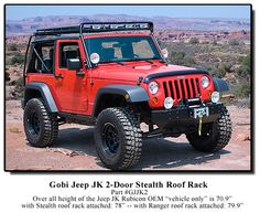 "Gobi Roof Rack for Wrangler JK -- It's a ""maybe"" thing, as it's kind of expensive"