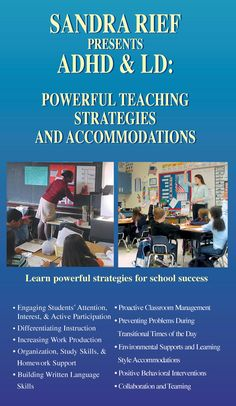 ADHD & LD: Powerful Teaching Strategies & Accommodations with Response to Intervention (RTI)