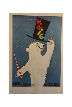 Vintage Circus Poster - inspiration for camp bestival #campbestival