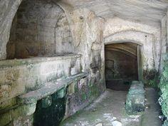 Matera - ancient bath.