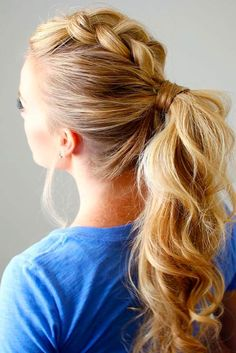 Great Ponytails to Wear at the Gym picture 1