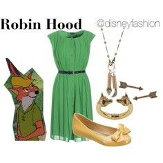 Robin Hood inspired outfit :)
