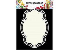 Niederländisch Doobadoo Holländische Kunst Form Wolke A5