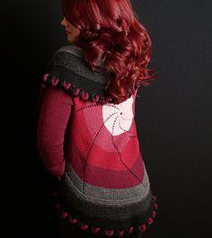 Ravelry: Pinwheel Sweater (Adult) Free Pattern by Shelley Mackie