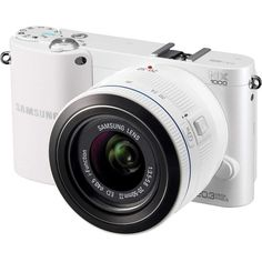 Samsung White Smart Compact System Digital Camera with Megapixels and Lens Included Samsung Camera, Camera Case, Love Photography, Digital Photography, Nikon, Take Better Photos, Zoom Lens, Hot Shoes, Best Photographers