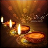 exquisite diwali background 04 vector