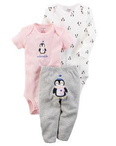 Baby Girl 3-Piece Little Character Set | Carters.com