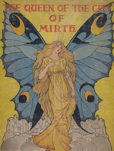 Cover illustration byElenore Plaisted Abbottfor The Queen of the City of Mirth c.1911