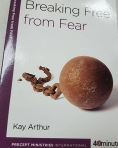 """Earlier today we had our 6:30 a.m. Small Life Group Bible Study on """"Breaking Away from Fear"""" by Kaye Arthur and we completed Part 2 of Lesson 4 and I would like to share what we learned but I do know this is late going up but I am sorry on that.  In part 2 of Lesson 4 on the Fear of Man we learned about how we should be able to face the Fear of Man by trusting in the Lord. A key Bible Verse by our Lord and Savior Jesus Christ for this Lesson talks about it which is from John 16:33 which says…"""