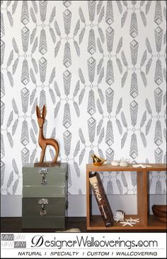 Native Feathers [FUN-49115] : Designer Wallcoverings™