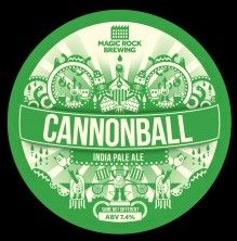 Cannonball: IPA 7.4% Cannonball is an India Pale Ale in the true tradition, high in alcohol and massively hopped to survive a long sea voyage. We don' t want you to wait though, crack the cap and let the flavour explode on your palate. Tropically fruity, resinous hops compete against a sweet malty backbone, while a rasping bitterness builds to a mouth puckering crescendo. Our hop bomb might just blow you away…