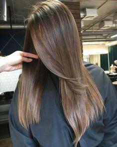72 Brunette Hair Color Ideas in 2019 Brown Hair With Blonde Highlights, Brown Hair Balayage, Hair Highlights, Ombre Hair, Subtle Balayage, Blonde Balayage, Brown Hair Streaks, Blue Eyes Brown Hair, Light Brown Hair Dye