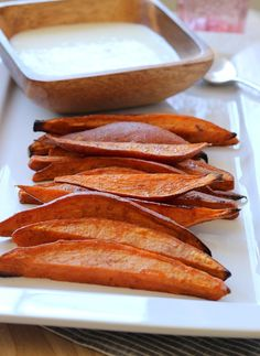 Sweet Potato Wedges with Lemongrass Yogurt Dip (69)