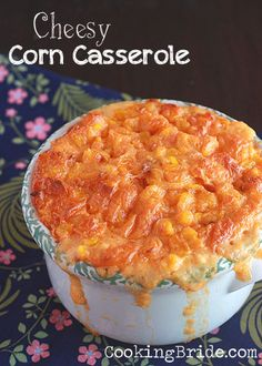 Cheesy Corn Casserole - CookingBride.com