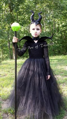 We have reached our capacity for 2016 Halloween orders for this costume. We realize that not all costumes are needed for this holiday, but may be still needed for Disney or birthday events, so we are leaving this listing active. However, ALL orders placed for this costume will now will be filled for Nov 2016. Thank you, dear customers, for your business this year! Happy Halloween! Shell command the crowds with our Magnificent Evil Black Tutu Costume. Perfect for dance events, Halloween…