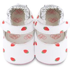 Chaussons Strawberry Patch (6-12mois) - Shooshoos