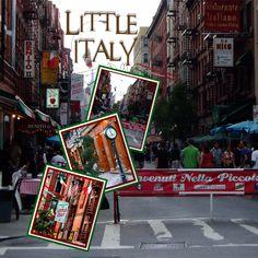 1920s Arthur Ave Little Italy      New York Street Sign Decal
