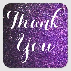 thank you stickers purple glitter - purple glitter thank you stickers, bag or envelope seals Size: inch (sheet of Gender: - Facebook Party, Perfectly Posh, Pure Romance, Thank You Stickers, Color Street Nails, Purple Glitter, You Gave Up, Scentsy, Mary Kay