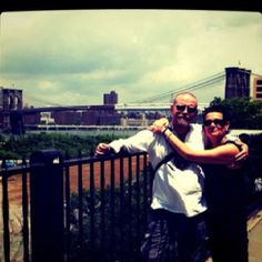 Me (and my wife) in New York 2011