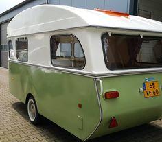 #GREEN De ideale kleur voor een duurzame caravan. #Constructam