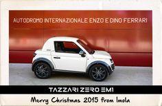 Merry Christmas 2015 from Imola WWW.TAZZARI-ZERO.COM #TAZZARI #ZERO #EM1 #TAZZARIEV #ELECTRICCAR #ZEROEMISSION #DESIGN #LUXURY #ELEKTROAUTO #COCHEELECTRICO #VOITUREELECTRIQUE #CARROELETRICO #ELEKTRISCHEAUTO #ELEKTRIKLIARABA #ZZ #IMOLA #MADEINITALY
