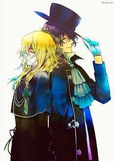 Pandora hearts Gil and Vincent